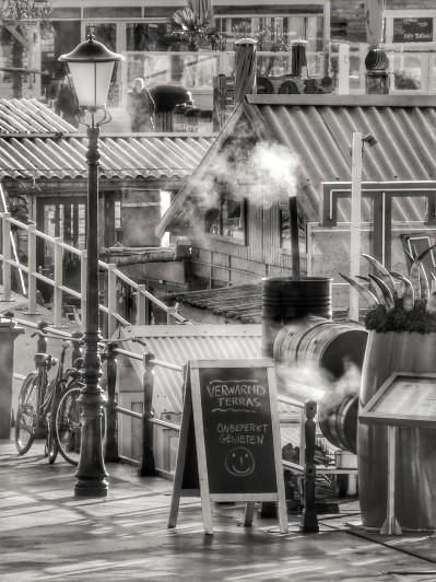 'Heated terrace' (Display)