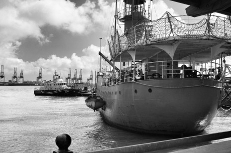 Lightships are common in Harwich